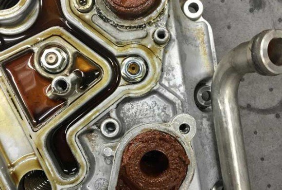 Ford 6.0 Oil Cooler